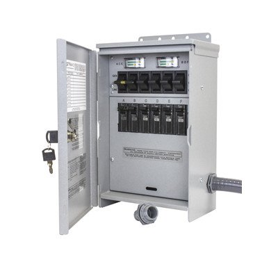 Reliance Controls R506A Pro/Tran2 Outdoor 50-Amp 6-Circui...