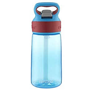 AUTOSPOUT Straw Striker, 14oz, Electric Blue
