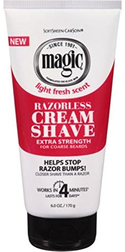 - Magic Shave Cream Extra-Strength 6 oz (Pack of 12)