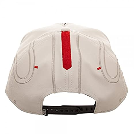 best sneakers 23695 e0f98 Star Wars at-at Pilot Big Face Snapback Hat White at Amazon Men s Clothing  store