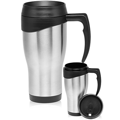 Large Stainless Steel Travel Mugs product image