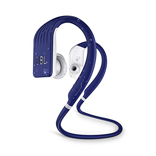 JBL Endurance Jump, Wireless in-Ear Sport Headphone with One-Button Mic/Remote - Blue (Jbl Wireless Microphone)