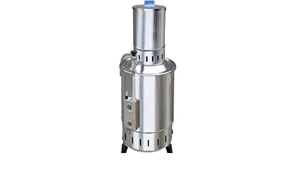 GOWE® Acero inoxidable agua Destilador eléctrico 5 litros/h, agua ...