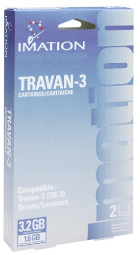 Imation 1.6GB//3.2GB Tr-3 Cartridge Travan Qic-3020 1.6GB 2-Pack