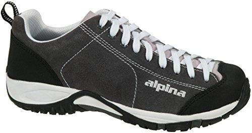 Alpina Mujeres Diamond Senderismo Zapatos Gris