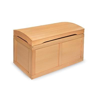 Badger Basket Barrel Top Toy Box, Natural