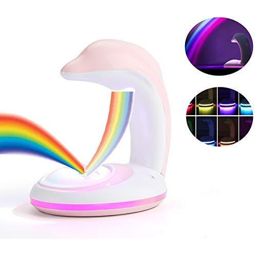 Rainbow Led Projector Lamp Night Light Room Decoration in US - 1