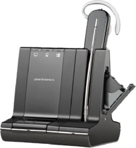 Plantronics Savi W745-M Headset (Switch Muting Mic)