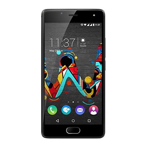 chollos oferta descuentos barato Wiko U Feel Smartphone SIM doble Android 6 0 MicroSIM RAM de 3 GB color negro