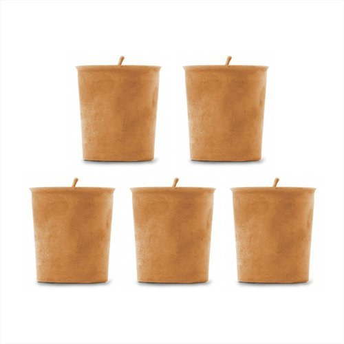 - Pumpkin Spice Soy Candles - 5 Pack of Soy Votive Candles