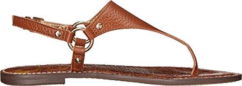 Sam Edelman Greta - Sandalias de Talón Abierto Mujer cuero, (Soft Saddle New Tumbled Leather)