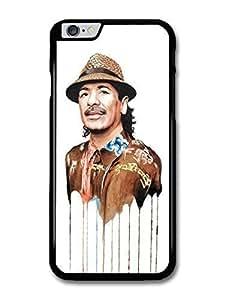 "AMAF ? Accessories Carlos Santana Melting Clothes Portrait Illustration case for for iPhone 6 Plus (5.5"")"