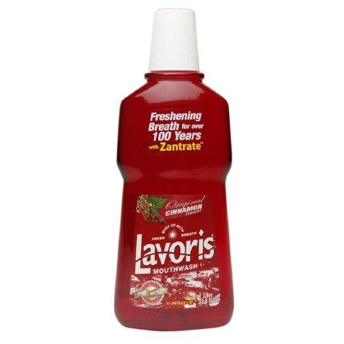 Lavoris Mouthwash Original Cinnamon 33.8 Oz. by Lavoris