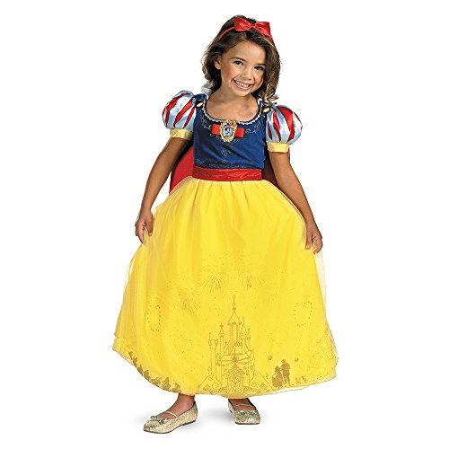 [Storybook Snow White Prestige Costume - Small (4-6x)] (Halloween Storybook Costumes)