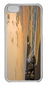 Customized iphone 5C PC Transparent Case - Beach Nature 34 Personalized Cover