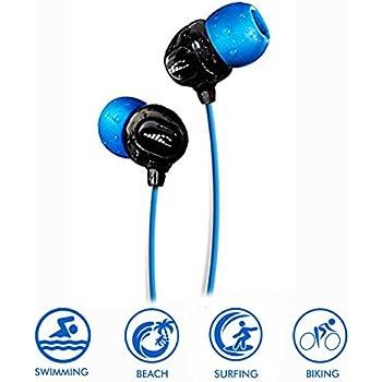 b550b5a52a3 Waterproof Headphones for Swimming - Surge S+ (Short Cord). Best Waterproof  Headphones for Swimming Laps