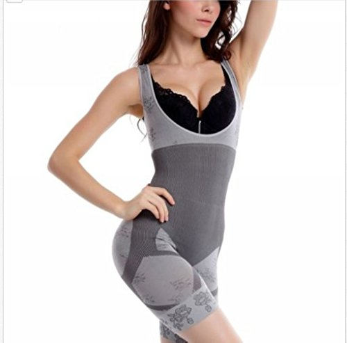 EWIN(R) Women Naural Bamboo Charcoal Micro-Fiber Body Shaper Slimming Underwear XL