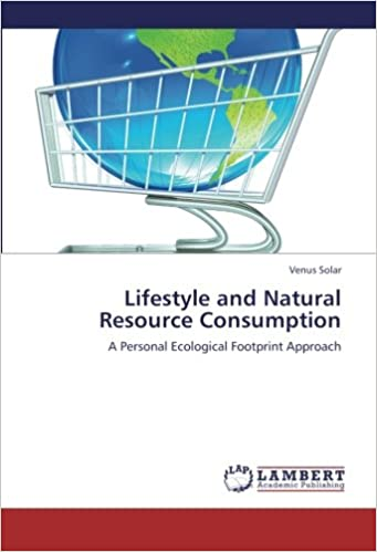 Book Lifestyle and Natural Resource Consumption: A Personal Ecological Footprint Approach