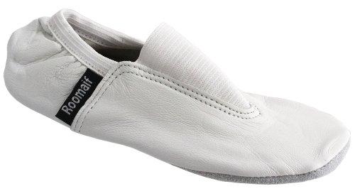 Oramics - Zapatillas de gimnasia para niña blanco - blanco