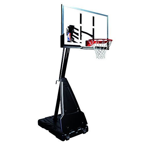 "Spalding NBA Portable Basketball System - 60"" Acrylic Backbo"