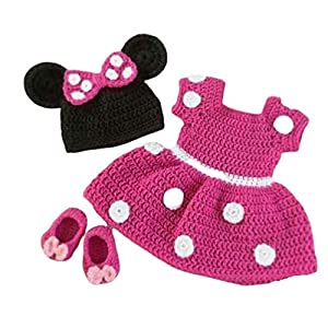 Woonie Handmade Mini Dress with...