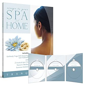 Spa at Home: Geribody Yoga with 2 CDs: Natures Medley and ...
