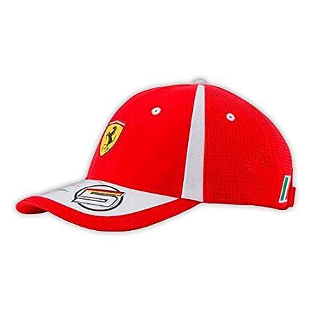 Master Lap Gorra Sebastian Vettel 2018 Scuderia Ferrari: Amazon.es ...