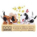 Save Money Box With New Design 2019, 1pcs Robotic 2 Dog Money Saving Box Automatic Stole Coin - Money Safe For Kids, Dog Eating Coin Bank, Choken Bako Bank, Coin Bank Money Box, Choken Bako