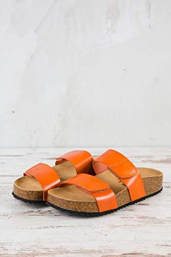 Plakton De Naranja Lisa Para Mujer Pl1 071 Piel Zuecos Eu 37 rBqrpRt
