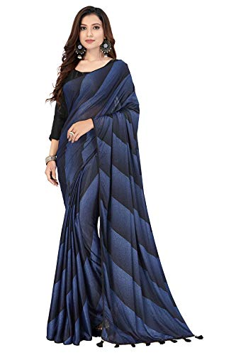 Pratham-Blue-Womens-Imported-Silk-Fancy-Saree-Black