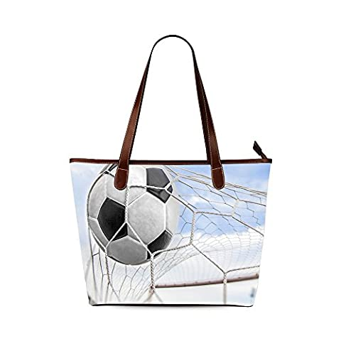 Soccer Custom Interest Print Tote Bag - Earthway Bag Seeder