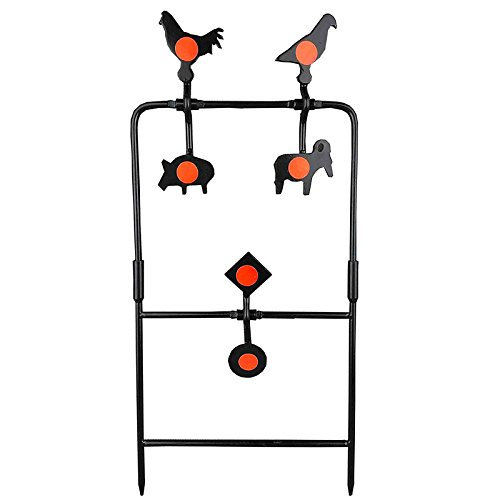 WINGS Plinking Air Gun/Rifle Pellet Target - 6 Targets, Air Gun Shooting Target Air Rifle Field Target