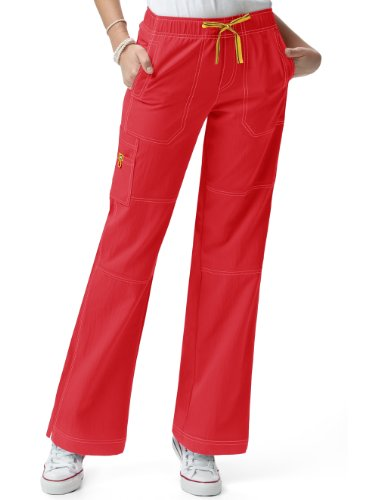 Wink 'Sporty Cargo pant' Scrub Bottoms Poppy 3X-Large Tall ()