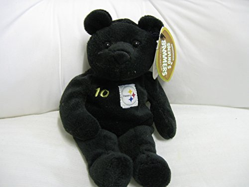 Pittsburgh Steelers Teddy Bear - Salvino's Bammer Pittsburgh Steelers Kordell Stewart #10 Collector Bear