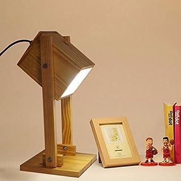 HYW Lámpara de Mesa-Original Minimalista escandinavo Moderna ...