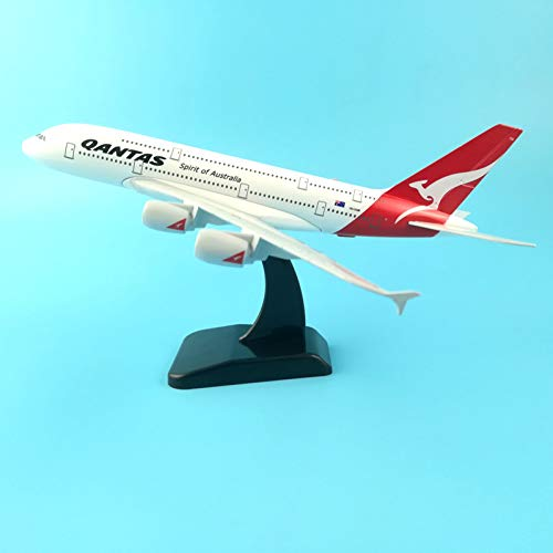 (Marreto 20Cm Alloy Metal Plane Model Air Australian Qantas Airbus 380 A380 Vh-Oqb Airplane Model Airlines Airways W Stand Aircraft Toys)