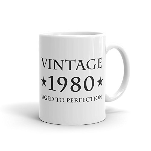 38th Birthday Gift Vintage 1980 Mug Gift for 38th Birthday 38 Years Old Mug Turning 38 Mug Funny Mug Gift idea #1020 -
