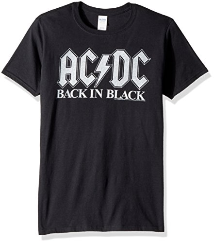 Tee Pour shirt Dos Acdc American Homme Courtes Album Manches Classics wAqgvS