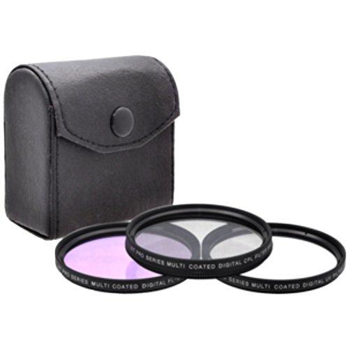 PRO 55mm Filter Kit for Nikon AF-P DX NIKKOR 18-55mm F3.5-5.6G VR Lens, Elite Edge - 55 mm Polarizing Filter, 55mm UV Filter, 55mm Florescent Filter, Filter Pouch - Shop - Brand Sunglasses P