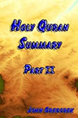 Summary Holy Quran (part 2) Kindle Edition
