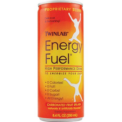 Twinlab Energy Fuel Fruit Splash - 8.4 Fl Oz - (Pack of 4) (Fuel Energy Drink)