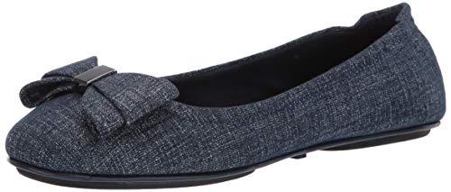 Bandolino Women's FAUDOA Loafer Flat, Denim, 6.5 Medium US