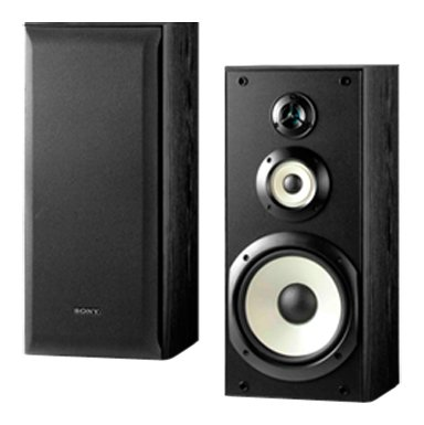 Sony SS B3000 Bookshelf Speakers Pair Black