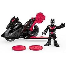 Fisher-Price Imaginext DC Super Friends Batman Beyond Batman Figure and Motorcycle