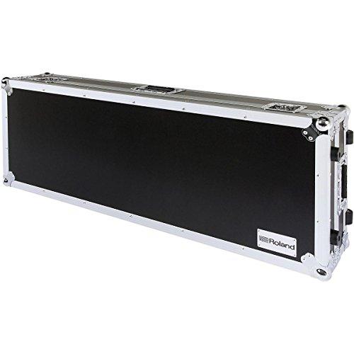 Roland RRC61W RRC-61W Black Series Keyboard Road Case with Wheels, 61-key by R O L A N D