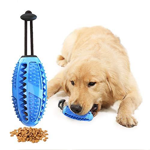 AnNido Zahnbürsten-Stick, Hundezahnbürste Hundespielzeug Kauspielzeug, Pet Molar Toy, Multifunktions Spielzeug…