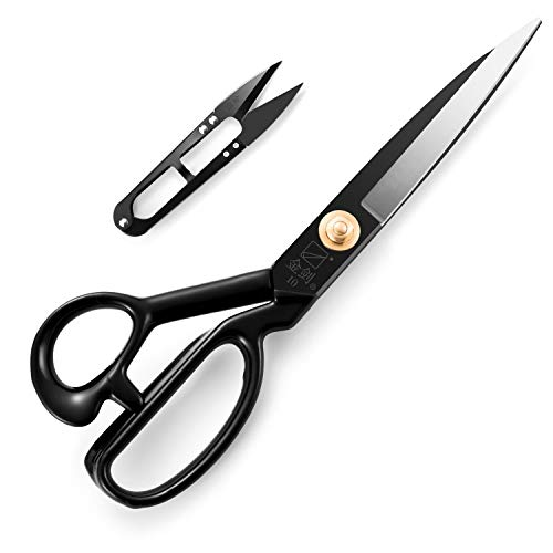 Dressmaking Scissors, Tailor's Fabric Shears 10 inch for Fabric, Leather,...