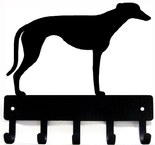 greyhound-key-rack-dog-leash-hanger-artisan-metal-shop-gifts-awards-large-9-inch-wide