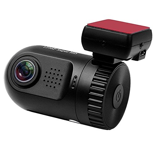 EnjoyGadgets® Mini 0805P Car Dashcam w/ GPS Logger - Capacitor Edition Built for Canadian Weather, 1296P Dashboard Camera Dash Cam, Replacing 0805 0806 Mini0805P