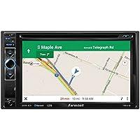 Farenheit TIN-61B 2-DIN GPS Navigation, MHL Mobilelink X2, DVD, Bluetooth, CD/USB/MP3 Car Stereo W/ 6.2 LCD.